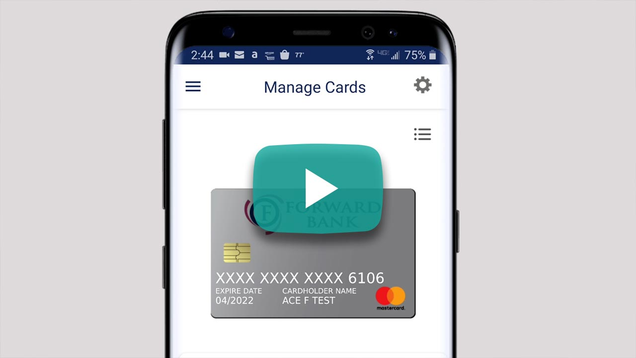 Digital Banking | Manage Cards video